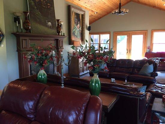 Lost River, Virginia Occidentale: Main living room