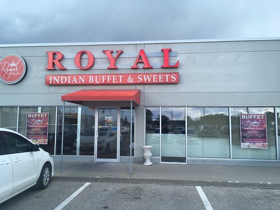 Cambridge, Canada: Royal Indian Buffet and Sweets