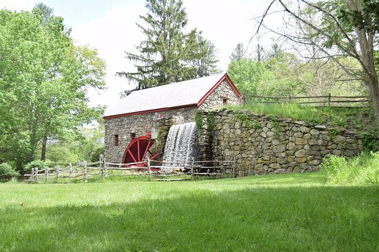 Longfellow's Wayside Inn: Our GristMill, the first working, and still functioning, mill to be built as a museum!