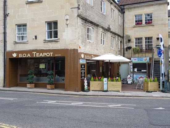Bradford-on-Avon, UK: B.O.A Teapot