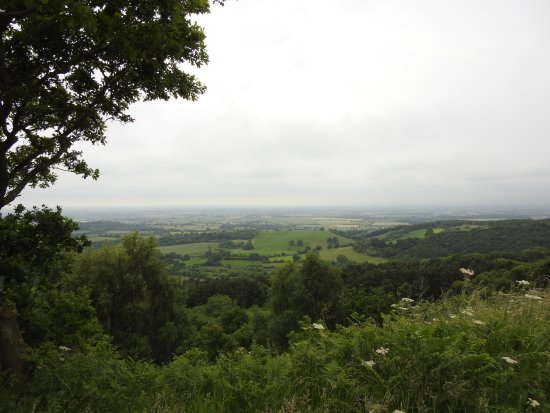 Thirsk, UK: View after climbing 157 steps