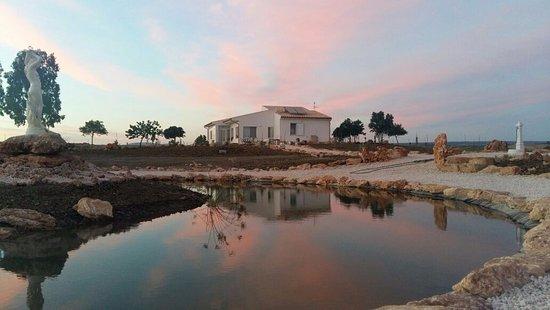 Bed and breakfast Terrazzo di Venere la Riserva : lago di venere