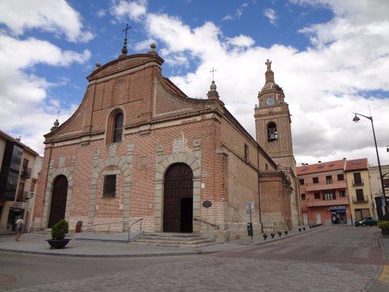 Arevalo, Spain: Церковь