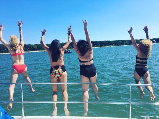 Sag Harbor, Νέα Υόρκη: Best Bachelorette Sail!