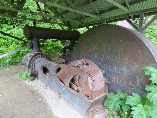 Last Chance Mining Museum: machine