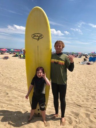 Belmar, Nueva Jersey: My six year old and I had a great first lesson! Lots of fun, and we felt well taken care of!