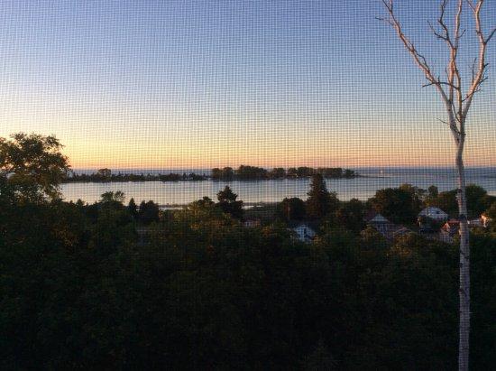 Grand Marais, MI: Sunset at 1000pm