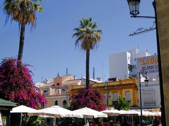 Sanlucar de Barrameda, Spanyol: Am Plaza del Cabildo
