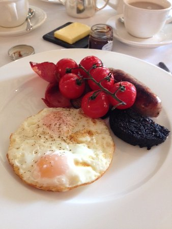 Upper Slaughter, UK: The English Breakfast offering