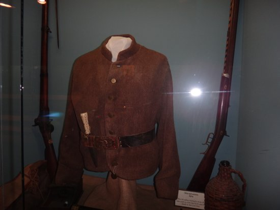 Bardstown, KY: Amazed at the good condition of this confederate jacket