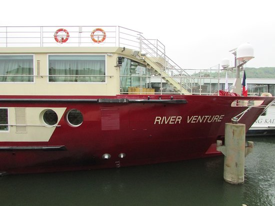 Honfleur, France: notre navire
