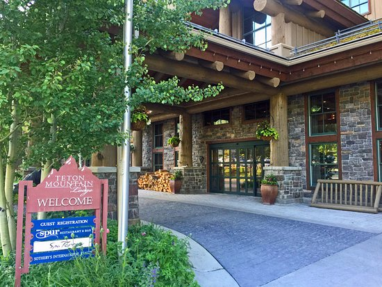Teton Village, Ουαϊόμινγκ: Front Entrance