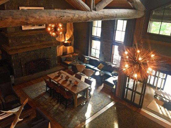 Teton Village, Ουαϊόμινγκ: Lobby area from 2nd floor