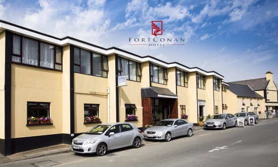 Fort Conan Hotel Duncannon: Front of Hotel