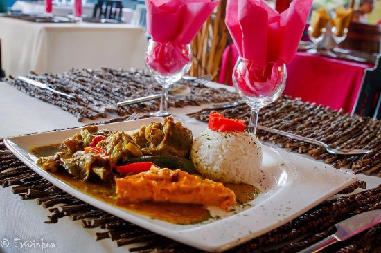 Petit-Bourg, Guadeloupe: Colombo de poulet 😋