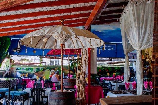 Petit-Bourg, Гваделупа: Vue sur la salle