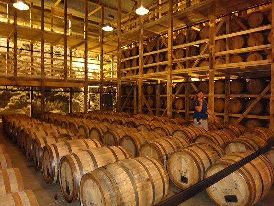 Loretto, KY: stored bourbon