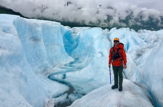 The Spencer Glacier Is Like Hiking On Another Planet