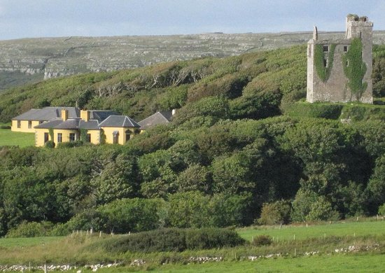 Ballinalacken Castle Country House: View from our bike ride in The Burren. We loved staying at the Ballinalacken