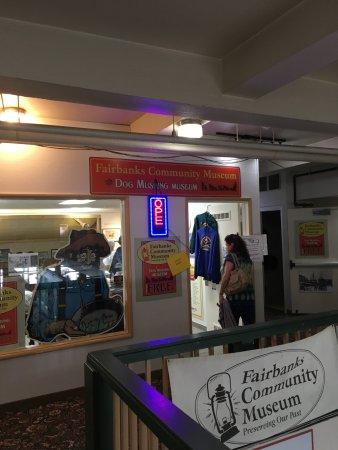 Fairbanks Community Museum: Entrance