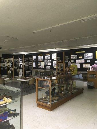 Fairbanks Community Museum: Museum display