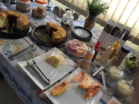 Mooca Hostel Atlântica: Cafe da manha maravilhoso !! Buffet com muitas opcoes!!
