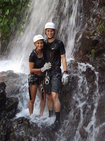 Quepos, Costa Rica: Waterfall adventure!