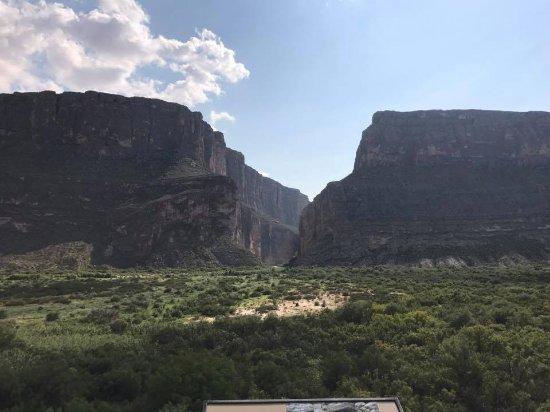 Alpine, TX: Rio Grande cutting through a mountain