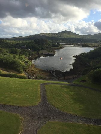 Sneem, Ireland (view from our hotel room that Gerrit suggested)