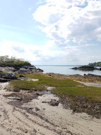 Parsonsfield, ME: beach stops on the island day