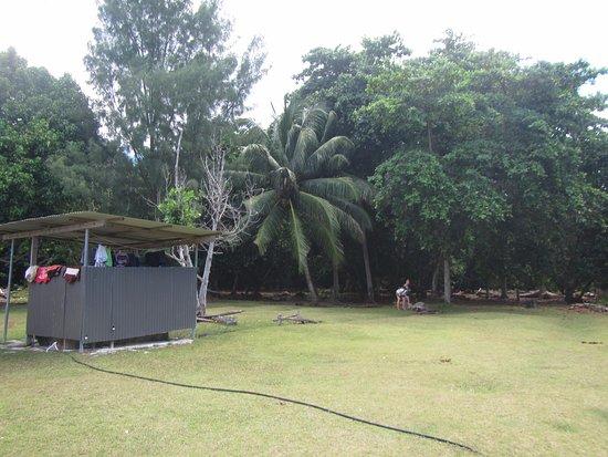 Praslin Adası, Seyşeller: Île Curieuse