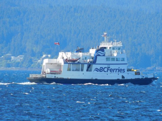 Powell River, Canada: A small ferry