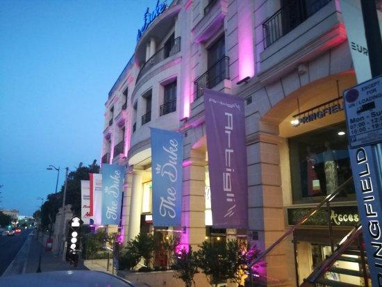 The duke boutique hotel victoria malte voir les for Boutique hotel malte