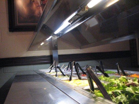 Cherokee, โอคลาโฮมา: Fresh Salad Bar
