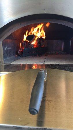 Kingsbridge, UK: our wood fire oven