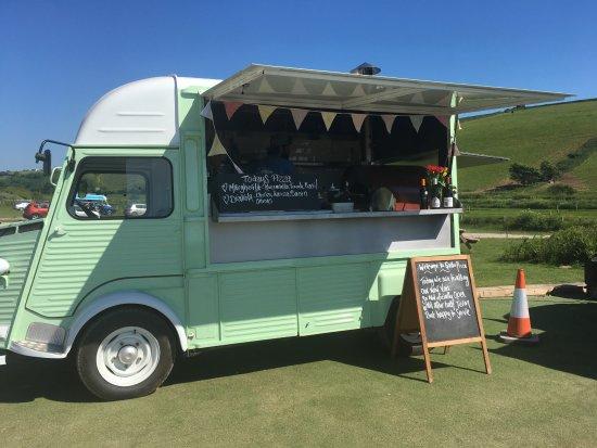 Kingsbridge, UK: our lovely van