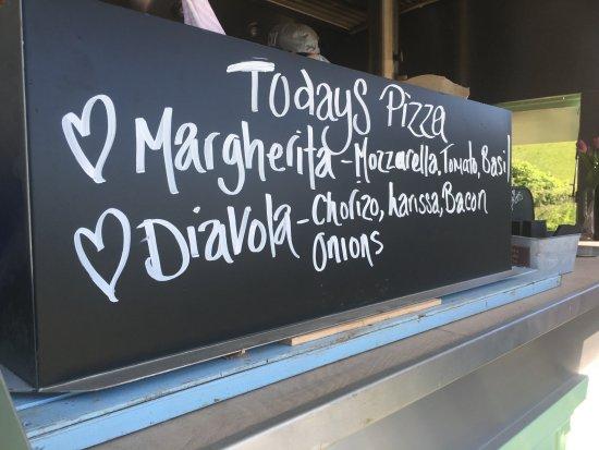 Kingsbridge, UK: todays menu