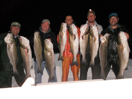 Orient, NY: Night Fishing Aboard MontyMan II