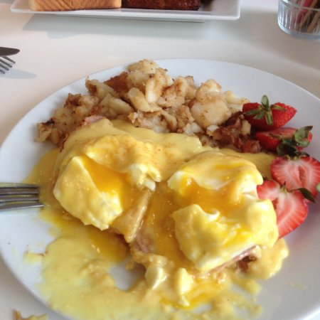Port Hope, Canadá: Egg benedict