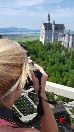 Mike's Bike Tours: Neuschwanstein Castle from Mary's Bridge