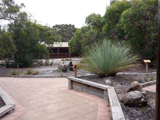 Flinders Chase, Australia: Der Weg zum Restaurant