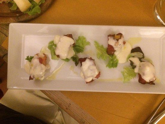 Castiglione Dei Pepoli, Italy: Una fantasia di piatti alla Bottega Palazzina