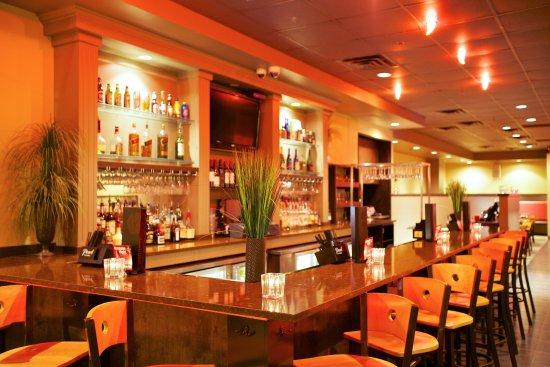 Drunken Fish - Westport Plaza: Bar area.
