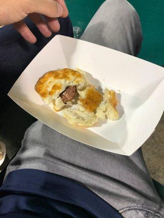 Riverwalk Stadium : Biscuits with conecuh