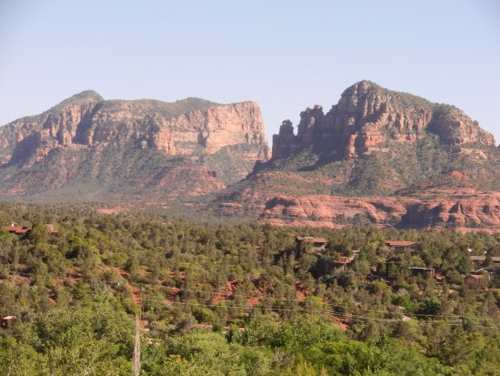 The Orchards Inn of Sedona : View to the right