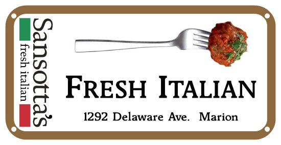 Marion, OH: Homemade meatballs,