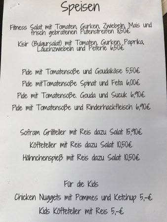 Pirmasens, Alemanha: The food took anHour to arrive but it was worth the wait,really recommend it!They said that they