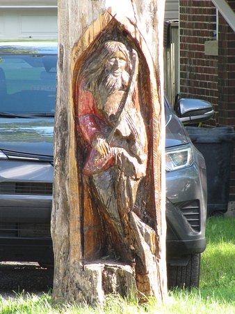 Orangeville, Canada: The Fiddler Sculpture