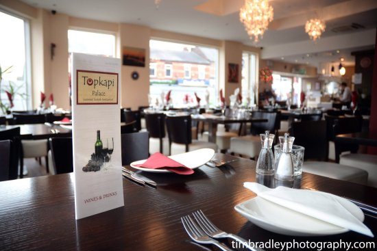 Prestwich, UK: Topkapi Palace Restaurant