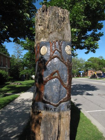 Orangeville, Canada: Homage to the Tree That Was